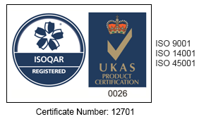 Alcumus ISOQAR registered