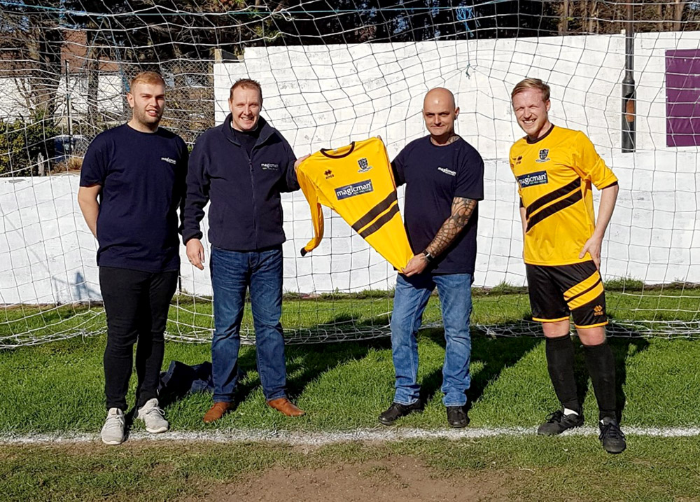Portslade Athletic FC unveil new  Magicman sponsored kit